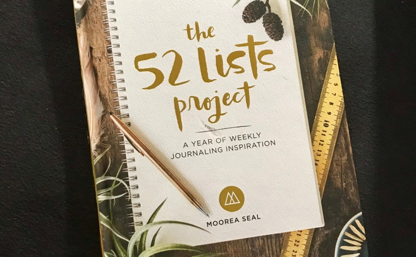 2018 Goals & The 52 Lists Project