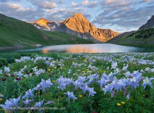 Blue Lake at Sunrise
