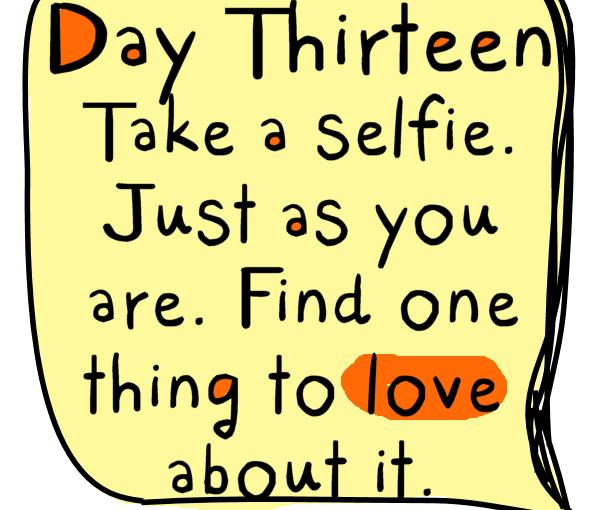 Self Love Challenge Day13
